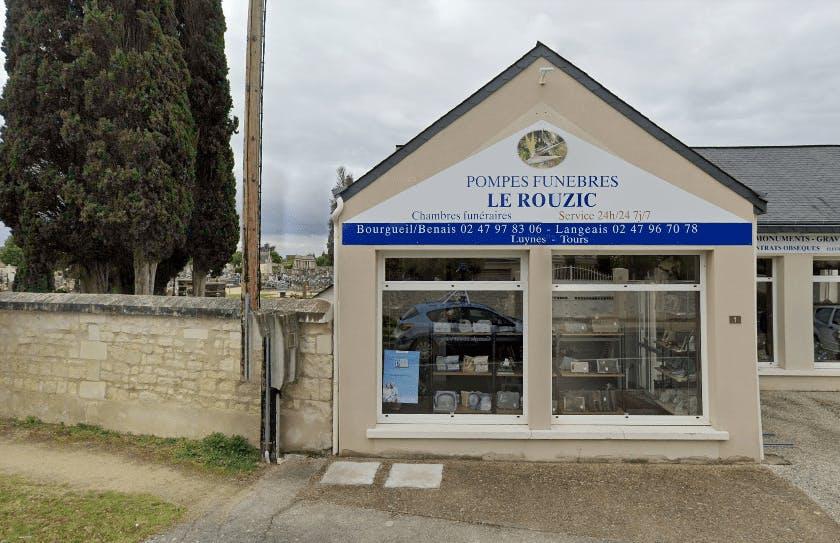Photographie Pompes Funèbres Le Rouzic de Bourgueil