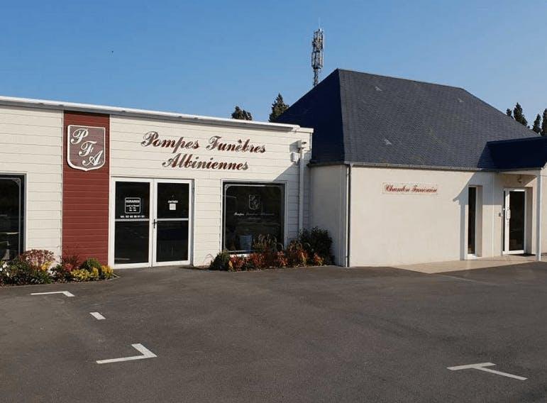 Photographie de la Pompes Funèbres Albiniennes à Aubigny-sur-Nère