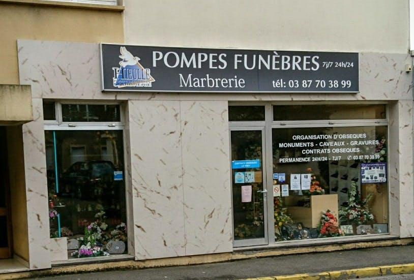 Photographie des Pompes Funèbres Hieulle à Amnéville
