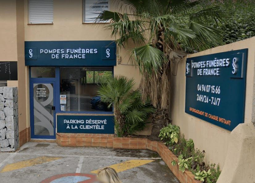 Photographie Pompes Funèbres de FRANCE de Sanary-sur-Mer