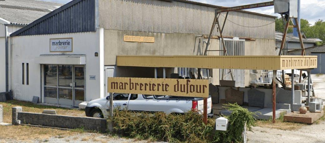 Photographie de la Marbrerie Dufour à Chambéry