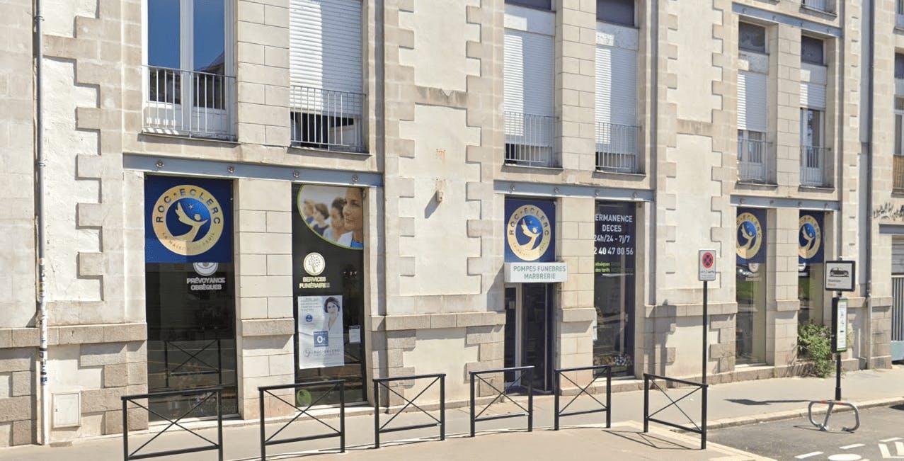Photographie Pompes Funèbres Roc-Eclerc à Nantes