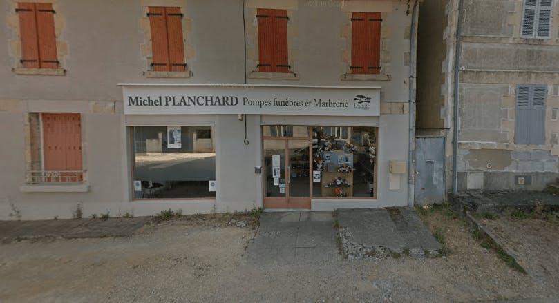 Photographie de la Pompes Funèbres et Marbrerie Planchard Torteron