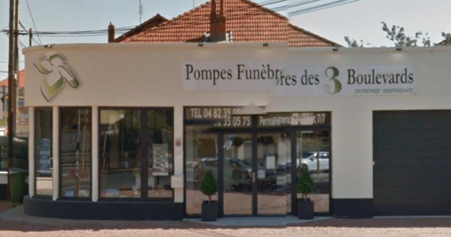 Photographie de la Pompes Funèbres des 3 Boulevards à Roanne