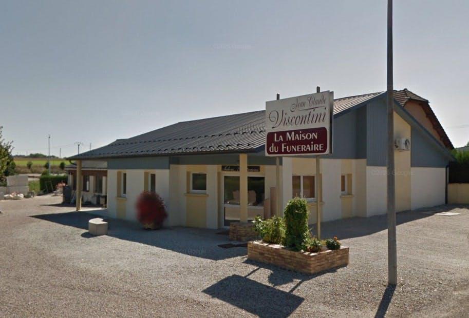 Photographies des Pompes Funèbres Marbrerie Funérarium Viscontini à L'Isle-sur-le-Doubs