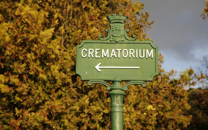 panneau crematorium