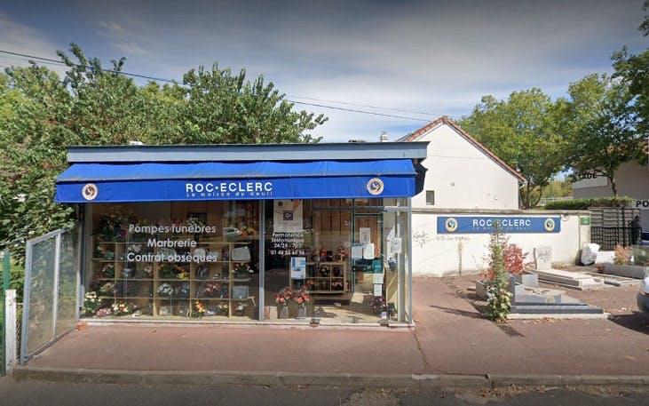 Photographies des Pompes Funèbres Roc'Eclerc à Bagneux