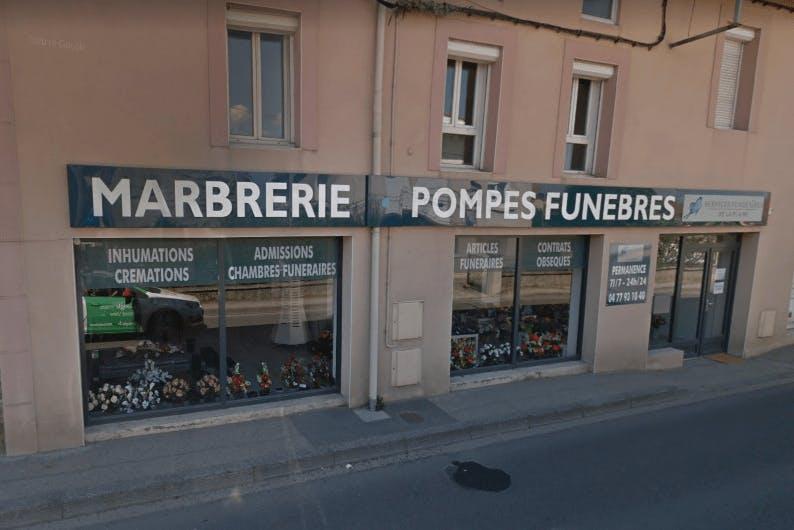Photographie Pompes Funèbres Marbrerie de la PLAINE de Saint-Just-Saint-Rambert