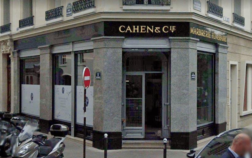 Photographie de la Pompes Funèbres Cahen et Cie à Paris