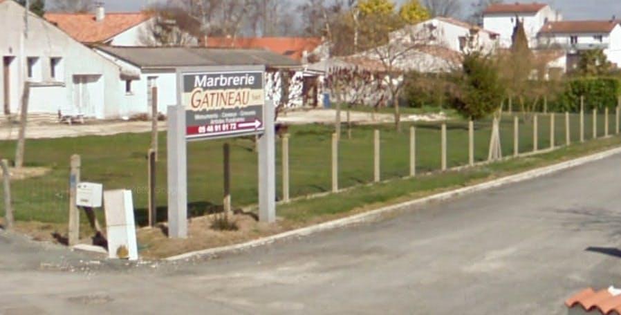 Photographies de la Marbrerie Gatineau à Chaniers