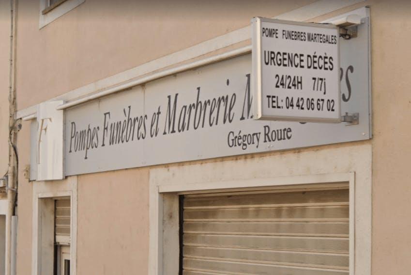 Photographie Pompes Funèbres et Marbrerie ROURE de Martigues
