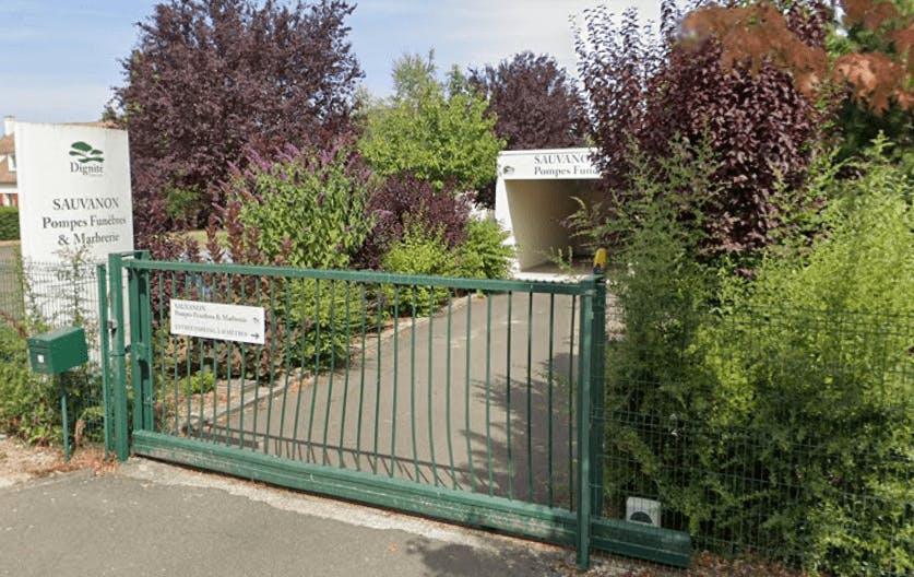 Photographie de la Pompes Funèbres et Marbrerie Sauvanon de la ville de Nogent-le-Phaye