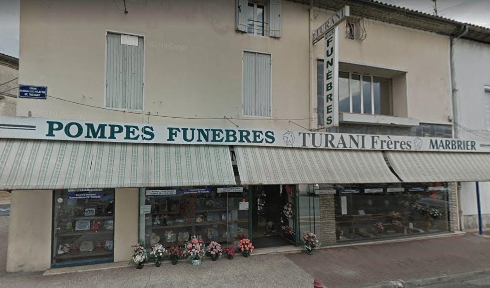 Photographie de Pompes Funèbres et Marbrerie Turani Frères de la ville de Langon
