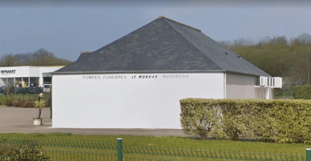 Photographie de la Pompes Funèbres le Morvan à Ploumilliau
