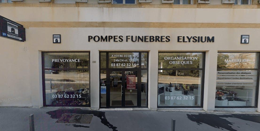 Photographie Pompes Funèbres et Marbrerie ELYSIUM de Metz
