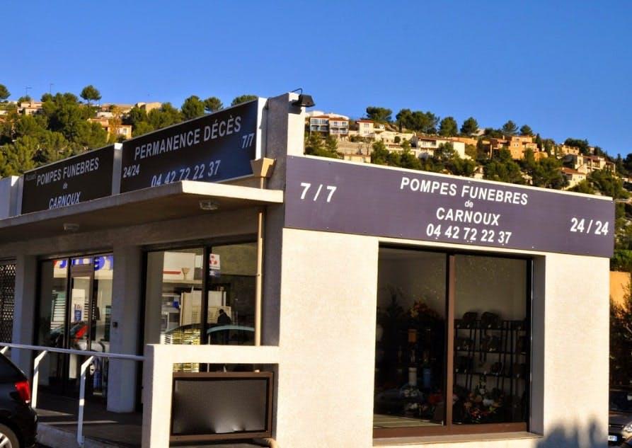 Photographies des Pompes Funèbres de Carnoux à Carnoux-en-Provence