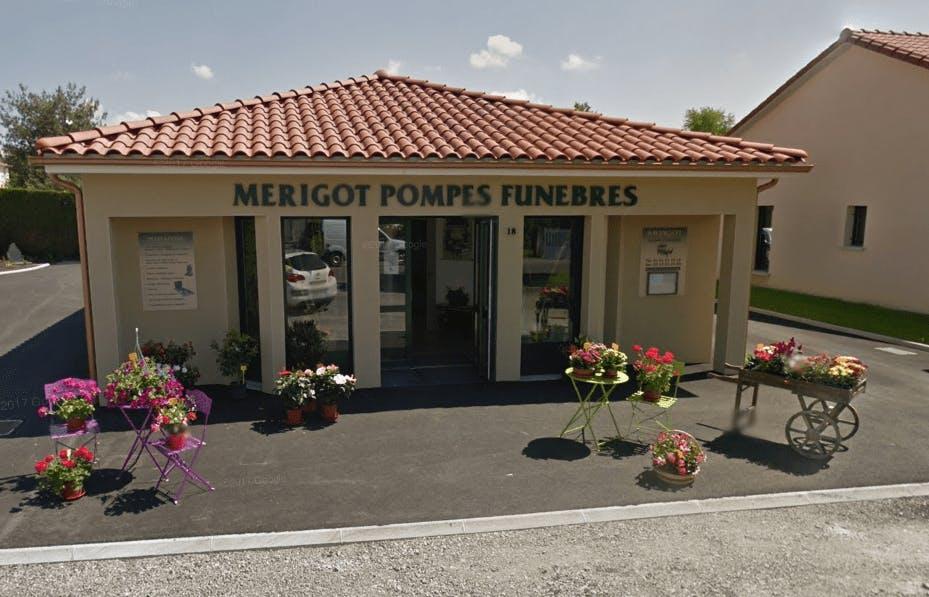 Photographie de la Pompes Funèbres Mérigot  de la ville d'Oradour-sur-Glane
