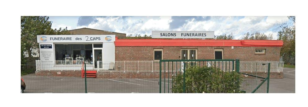 Photographie de la Funéraire des 2 Caps à Calais