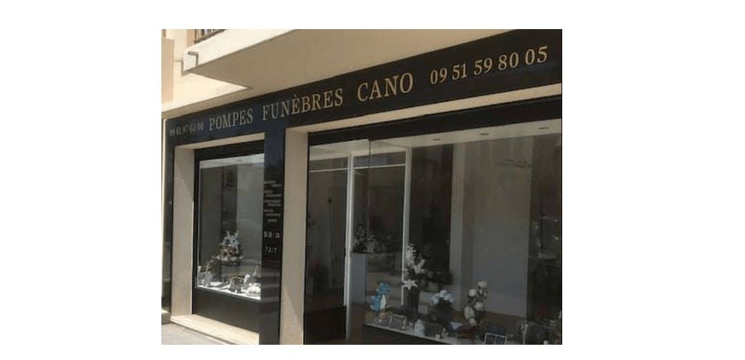 Photographie de la Pompes Funèbres Cano à Marseille