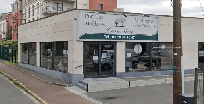 Photographie Pompes funèbres Marbrerie LEMAHIEU de Roncq