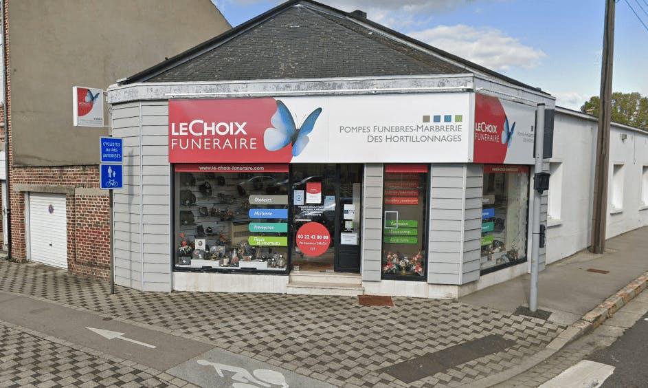 Photographie de la Pompes Funèbres DES HORTILLONNAGES - Le Choix Funéraire  de la ville de Longueau