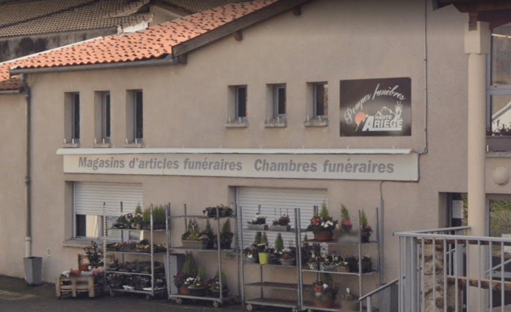 Photographie de Pompes Funèbres Haute Ariège de la ville de Tarascon-sur-Ariège