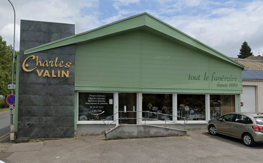 Photographie Pompes Funèbres VALIN de Cany-Barville