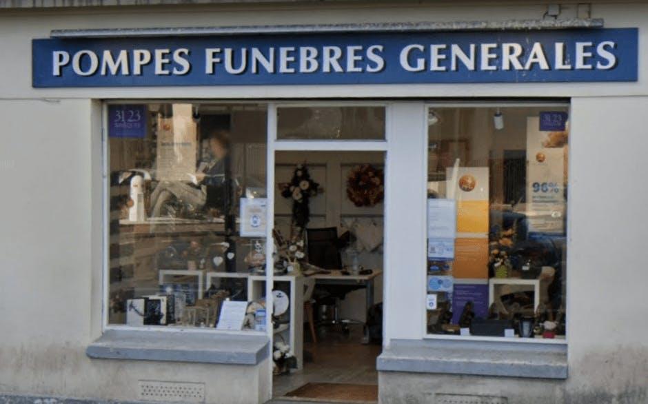 Photographie Pompes Funèbres Générales de Saint-Cyr-l'École
