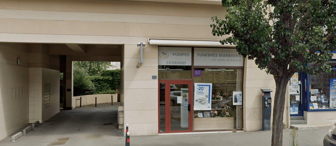 Photographie Pompes Funèbres et Marbrerie Joanick Legrand à Rennes