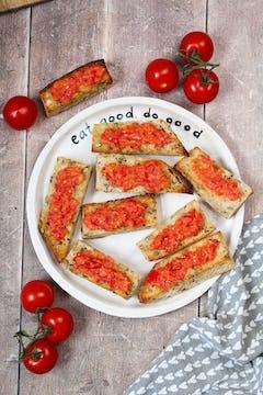 image of Spanish Style Tomato Toast