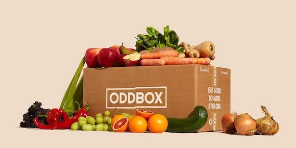 Photo of a Fruit & veg oddbox