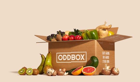 Medium fruit and veg oddbox