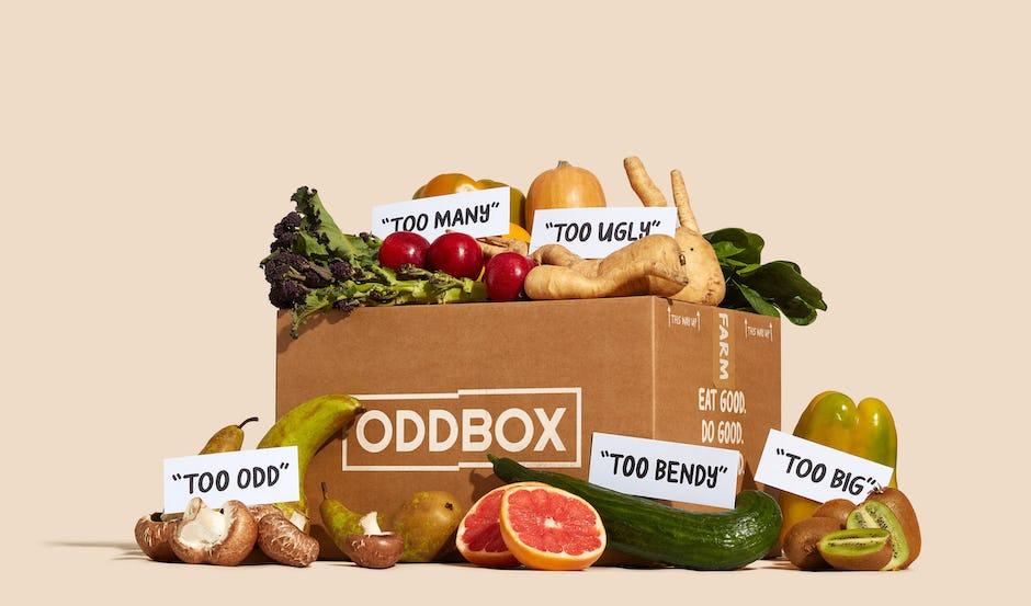 Oddbox fruit and veg box