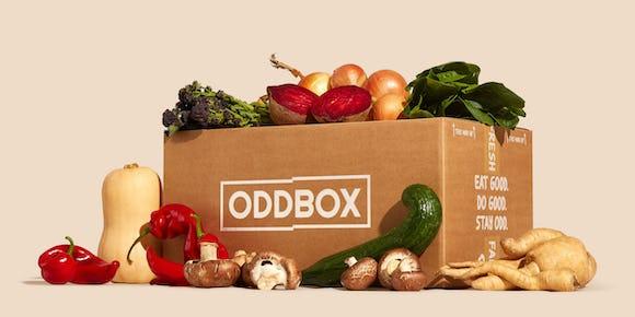 Photo of a veg box