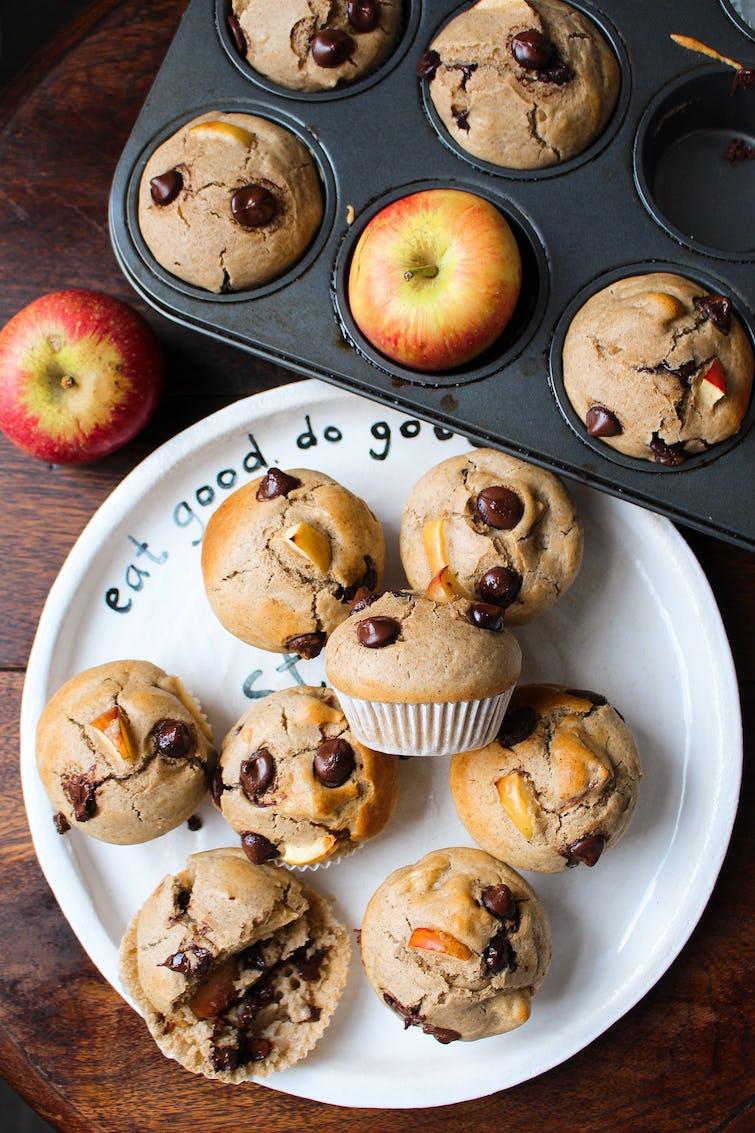 Muffins in Oddbox plate
