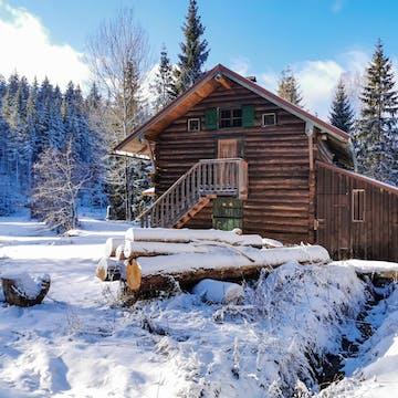 Hut in Bavarian Forest