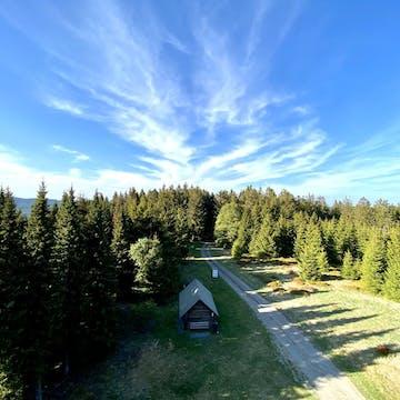 Mountain top in Winterberg
