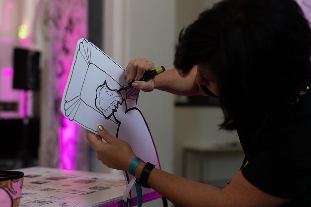 Drawing Ladies Vienna – © Michael Fasching