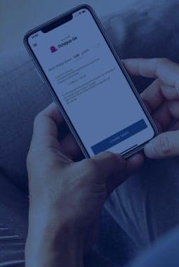 ohme smart EV charging mobile app