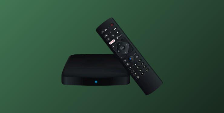 Oi Streaming Box: aparelho e controle remoto