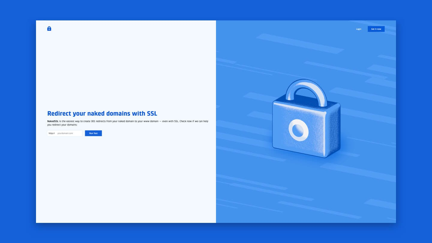 NakedSSL: hassle-free SSL redirections for your naked domains.