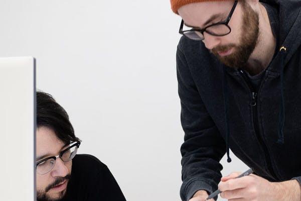 Design critique: Fabian Tschöpl and Álvaro Secilla at okay bueno, a digital product studio bast in Berlin.