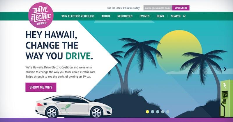 Drive Electric Hawai'i website, www.driveelectrichi.com