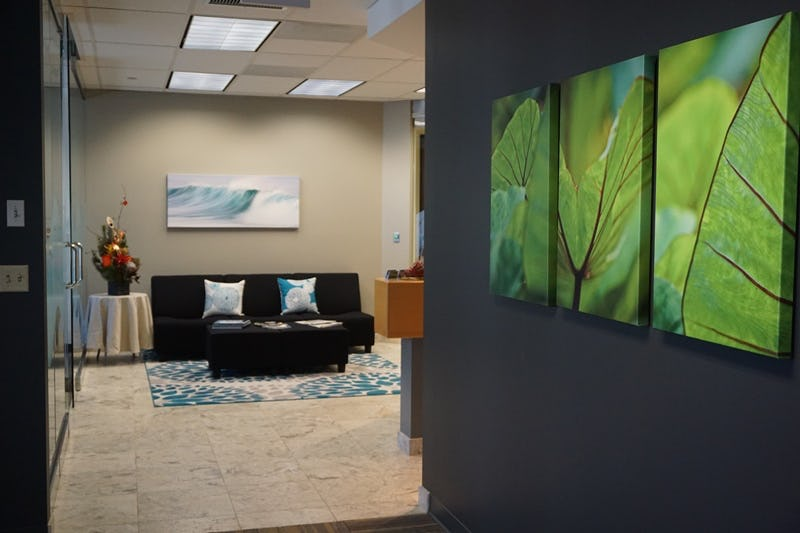 Photo of office entryway