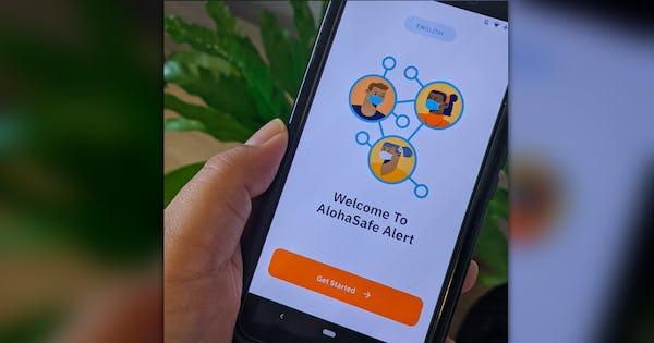 Photo of AlohaSafe Alert App