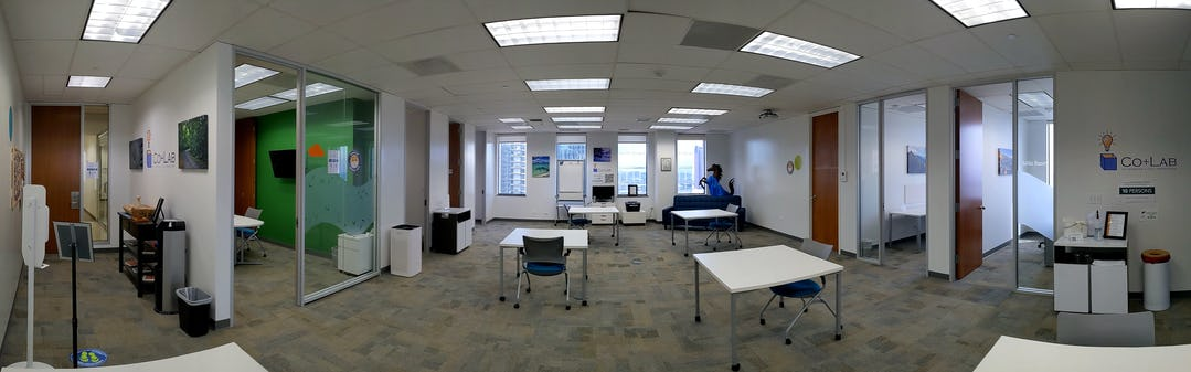 Photo of Co+Lab co-working space