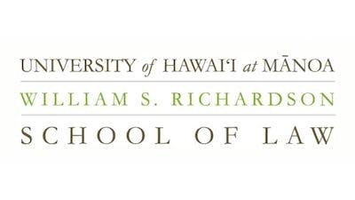University of Hawai'i at Manoa William S. Richardson School of Law