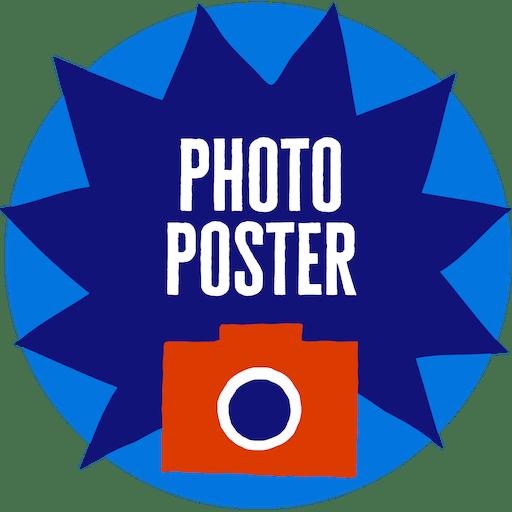 Photo Poster badge