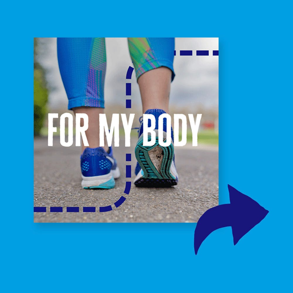 Your Million Steps 'For my body' GIF