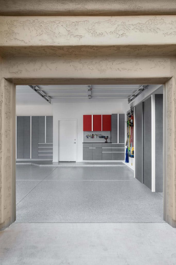 Garage Storage Pewter Powder Coated